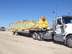 Flatbed Trailer - Heavy Haul Trucking Services